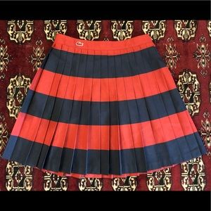 Lacoste Pleated Skirt XS
